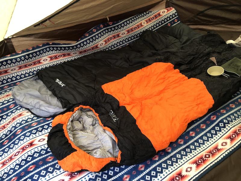 冬キャンプ防寒