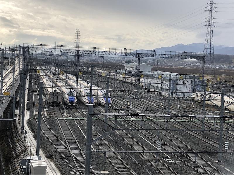 長野新幹線水没