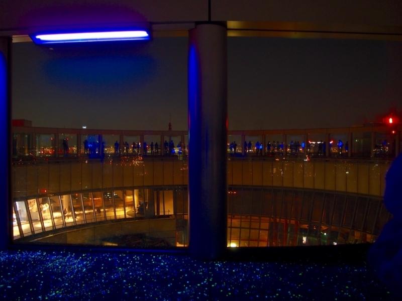 空中庭園夜景