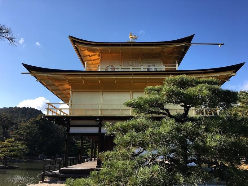 冬の金閣寺